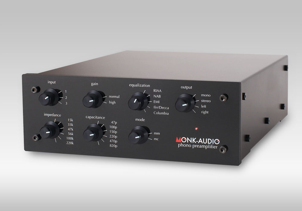 Monk Audio Phono Preamplifier